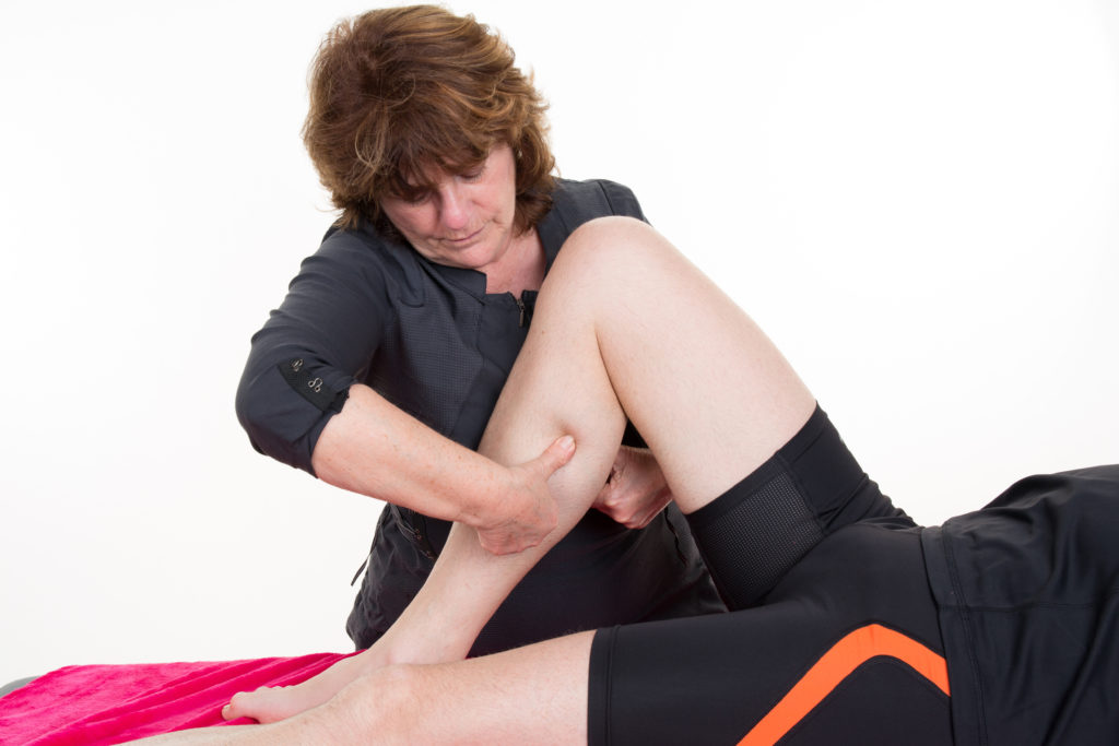 Mobile Physical Therapy for Calf Injury